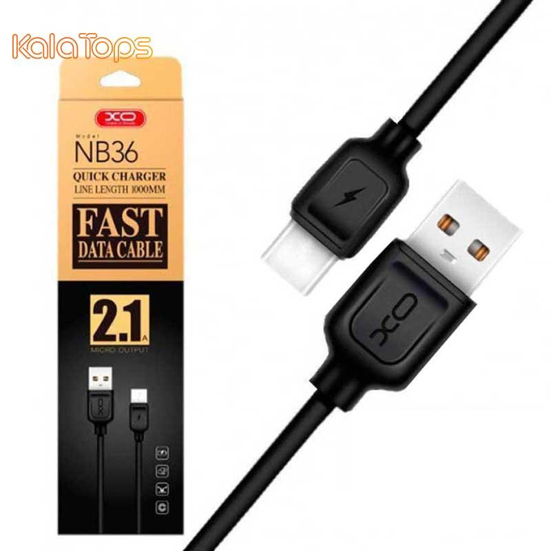 کابل تبدیل USB به Type-C مارک XO مدل NB36 به طول 1 متر
