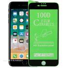 محافظ صفحه نمایش سرامیک نشکن مدل 100D مناسب برای گوشی موبایل اپل i Phone 7 Plus
